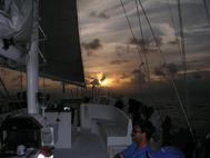 Breven in the Horse Shoe of the Sea Explorer in the channel