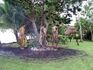 Fijian fire Walkers of Bega Island Fiji Home of the Firewalkers