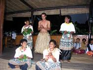 Fijian Singers at Resort on Bega Island Fiji